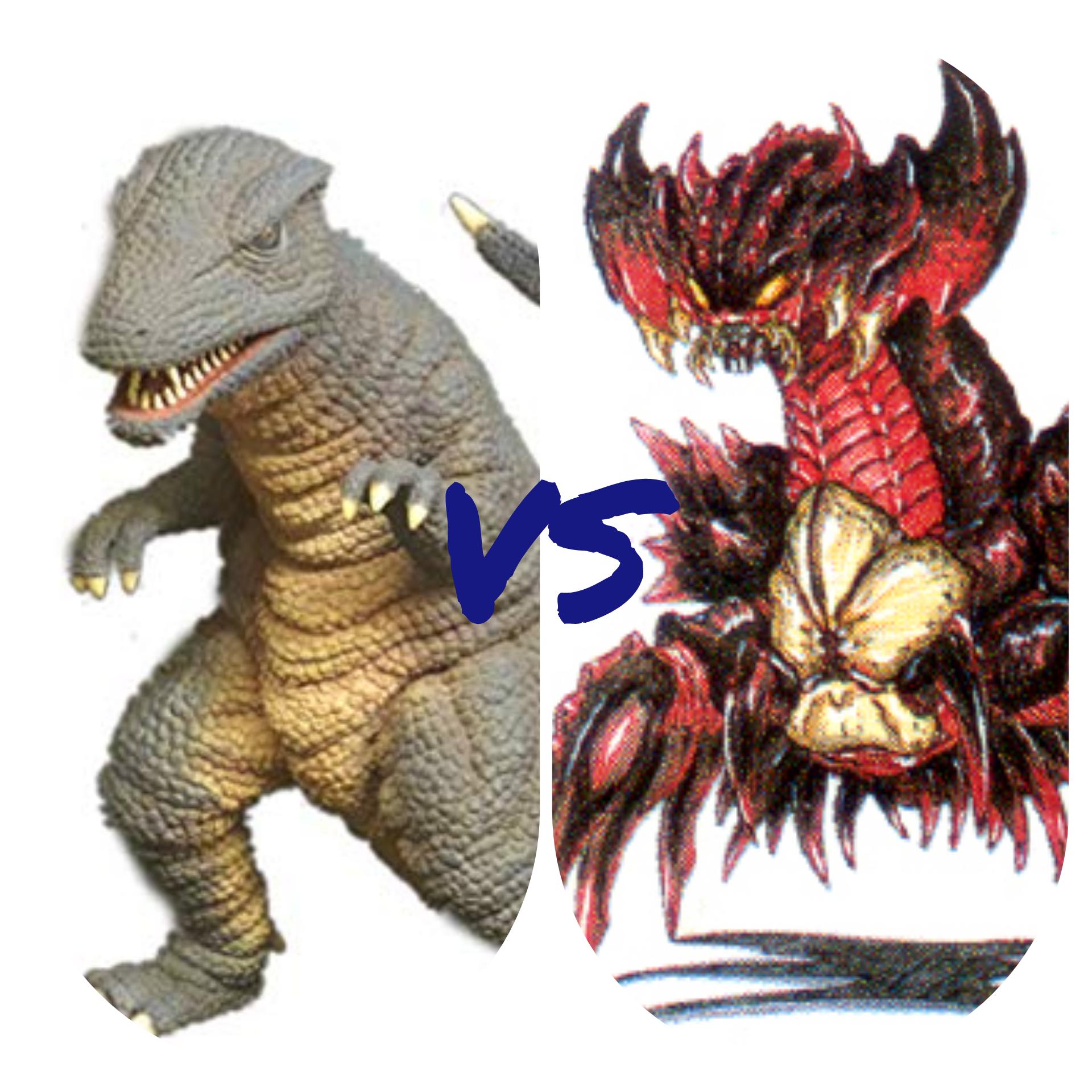 Gorosaurus vs Destroyah(compuesto)