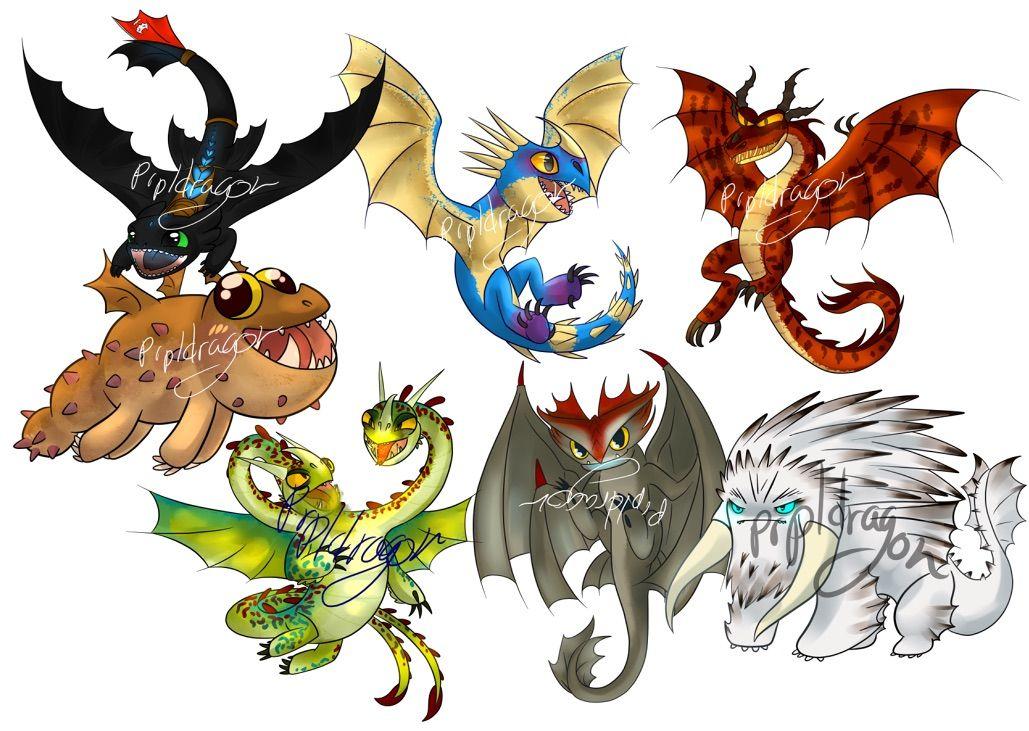 Картинки драконов из мультика как приручить дракона все драконы