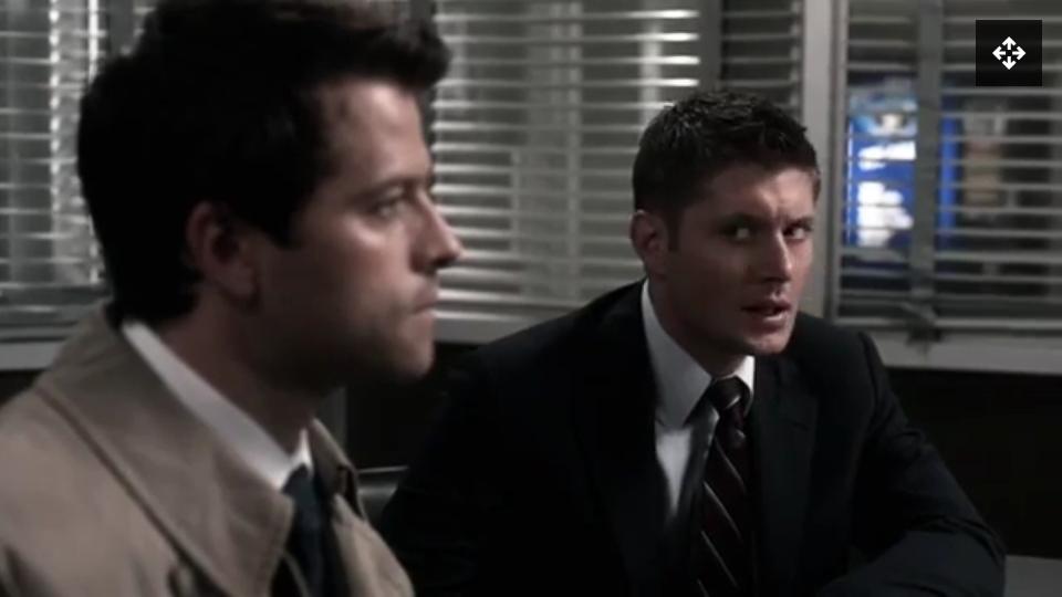 Olha assim não Dean winchester!?