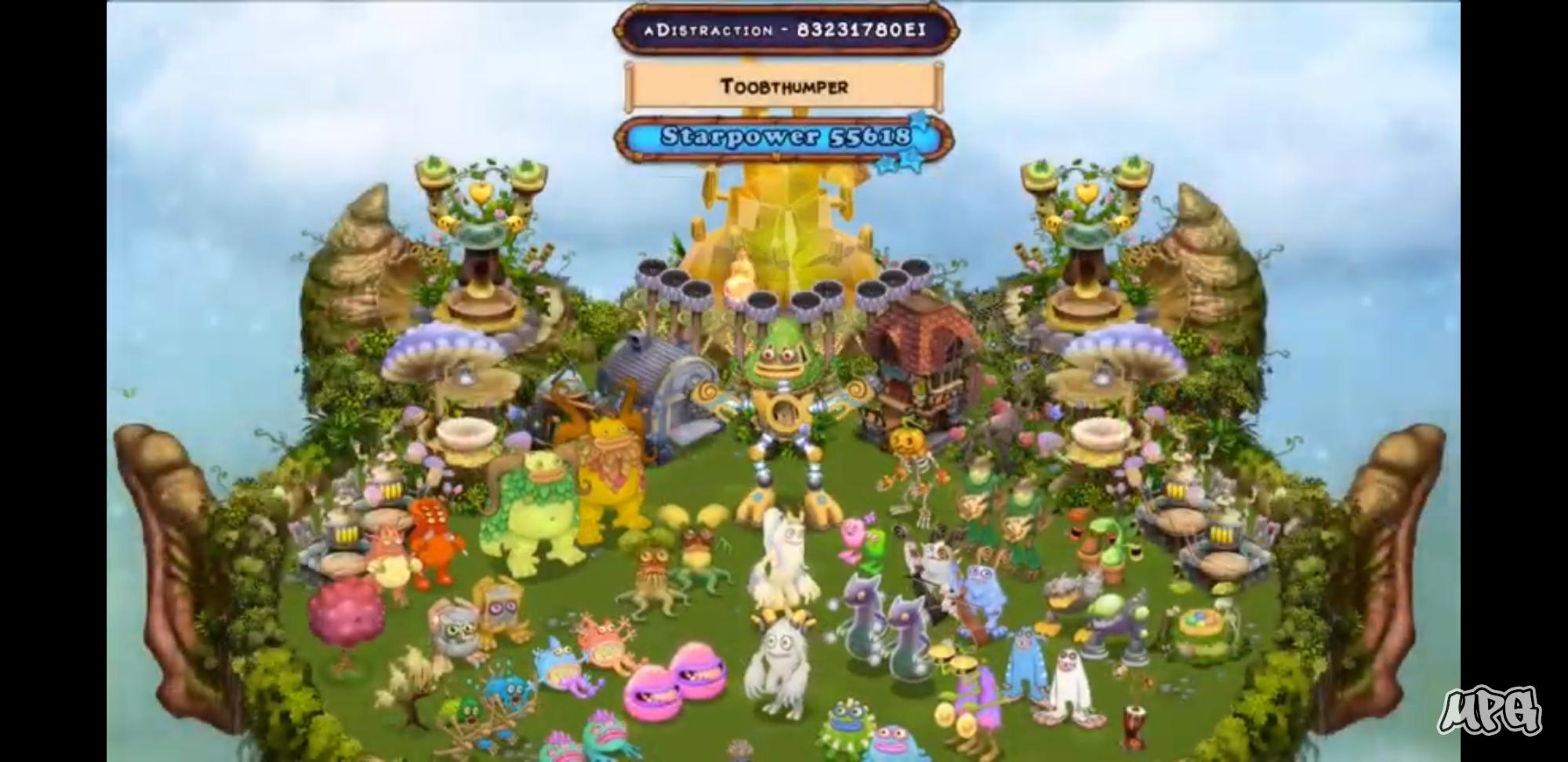 MPG visited my Plant Island and Wublin Island on his livestream!