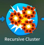 Recursive Cluster Icon BTD6