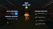 Max levels up 1