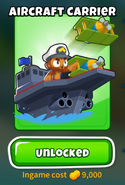 Aircraft Carrier BTD6
