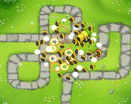 Recursive Clusters Spread