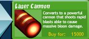 Lasercannon-btd4 upgrade