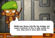 Warning of MOABs