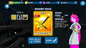Golden Viola