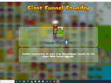 Giant Funnel Foundry