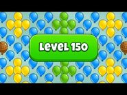 What's in Level 150 of Bloons Pop?