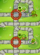 Mortar vs dartling accuracy 25