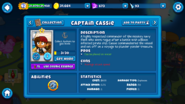 Captain Cassie Profile
