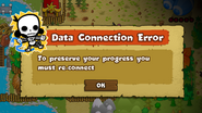 Connect error electrocute