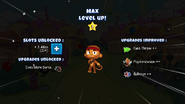Max levels up 2