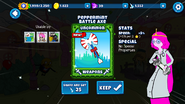 Peppermint Battle Axe