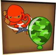 Camo Bloon Icon