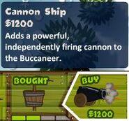 Cannon Ship Monkey Buccaneer