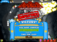 Dreadbloon victory