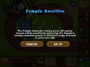Temple sacrifice ipad