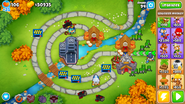 Ready Bloon Traps On Map BTD6
