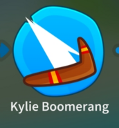 Kylie Boomerang Icon