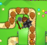 Juggernaut Attacking Ceramic Bloons