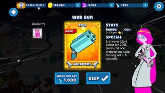 Web Gun