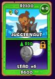 Card Dart Monkey 4-0
