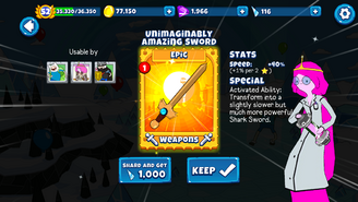 Unimaginably Amazing Sword