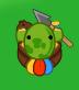 Tribal-Turtle-on-land
