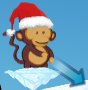Bloons 2 Christmas Expansion Dart Monkey