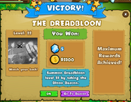 Dreadbloon victory 2