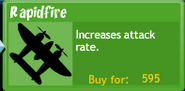 BTD4 Rapidfire upgrade button
