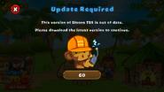 BTD5 update required