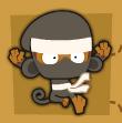 Ninja monkey seeking