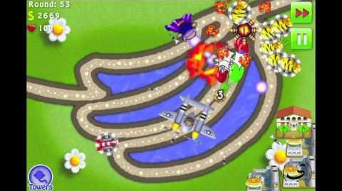 Bloons_TD_4_iPhone_iPod_-_PERFECT_(no_miss)_-_Track_2_Go_Bananas_-_Hard_-_Walkthrough_Commentary