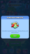 Purchased bloons pop inapp