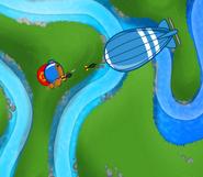Super Monkey battles MOAB