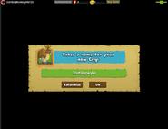 Enter name for City
