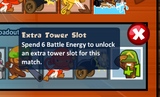 Extra tower slot