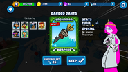 Barbed Darts battd