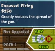 Focused firing