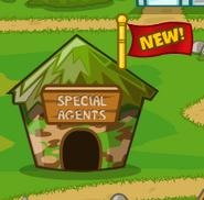 Special Agent Hut