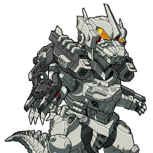Mecha Godzilla 550