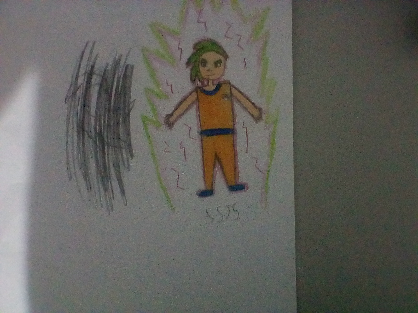 Meu Goku SSJ5