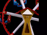 Tin Wind-Up Ferris Wheel