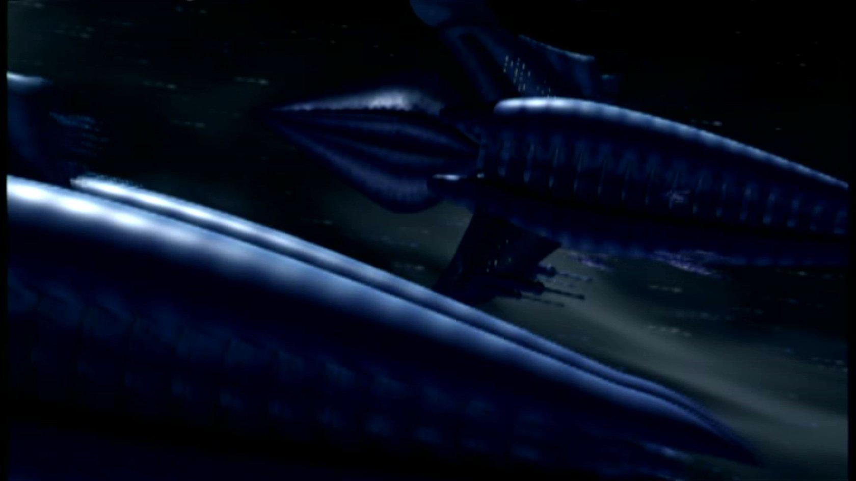 Minbari cruiser (Shadow War era)