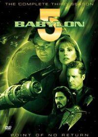 Babylon 5 Season 3 DVD