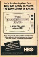 BSC TV series on HBO bookad from Mystery 2 1stpr 1991