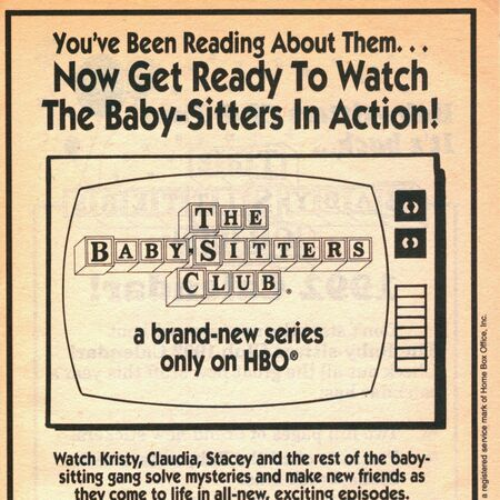 BSC TV series on HBO bookad from Mystery 2 1stpr 1991.jpg