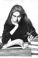 Shannon Kilbourne studying SS11